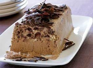 Yum... I'd Pinch That!   Chocolate Coffee Semifreddo (Ice Cream)