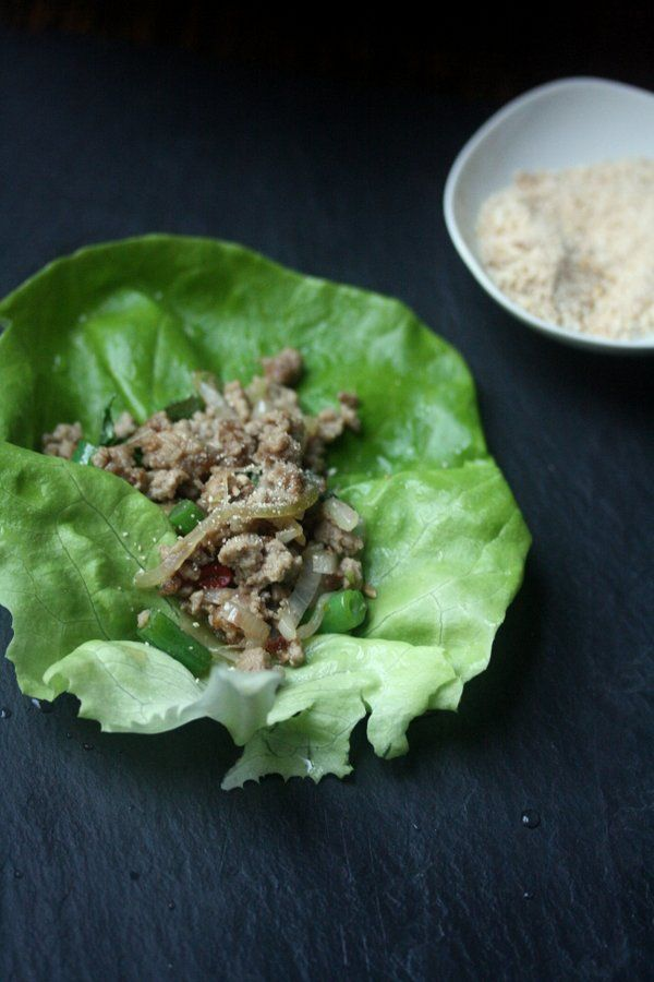 Tastetrotting: Pork Larb Lettuce Wraps
