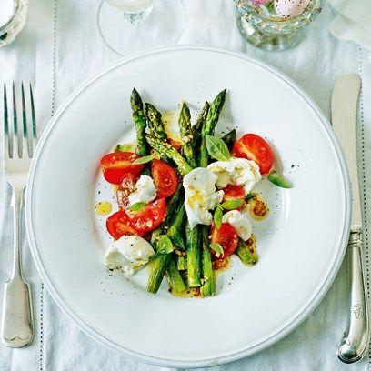 Asparagus & Tomato Salad | Recipe
