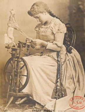 A poster of Fanny Moody, a famous English opera singer in the late 1800's