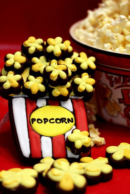 Popcorn Cookies | Cakes, Cookies & Cupcakes | Pinterest
