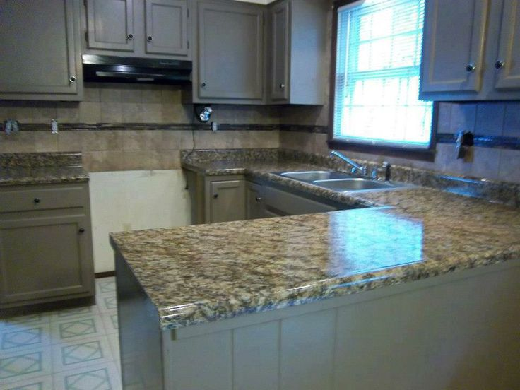 Giani Countertops - paint over existing countertops for an easy and ...