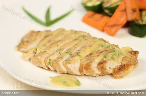 Grilled Chicken Recipe With Tarragon-Mustard Marinade Recipe ...
