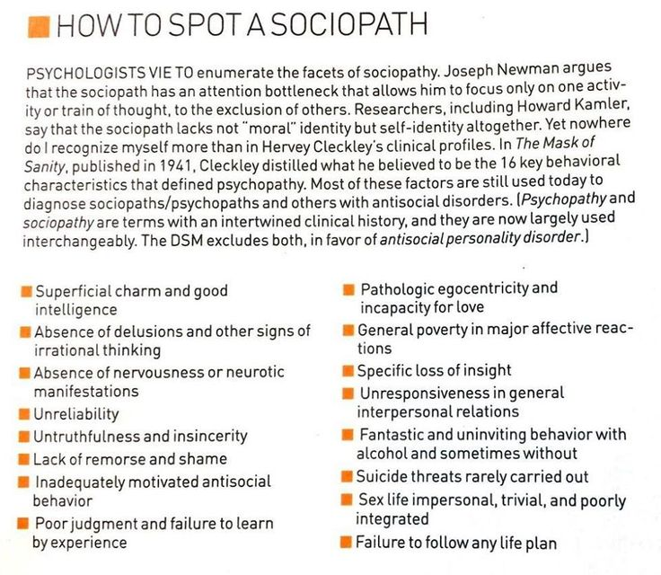 the lack of feelings and moral compass in psychopaths and sociopaths Sociopaths are not criminal by nature, you can argue that about psychopaths or anyone but, they are very charismatic and don't have a moral compass like psychopaths sociopaths are independent thinkers and lack empathy so they can't relate to others so they mostly isolate themselves.