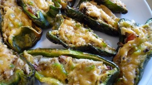Crab-Stuffed Poblano Peppers with Quinoa | Yummy Must Makes | Pintere ...