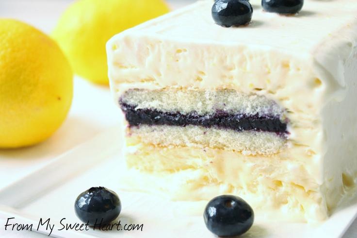 Lemon Ladyfinger Semifreddo | Meyer Lemons | Pinterest