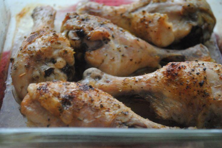 Easy baked chicken legs