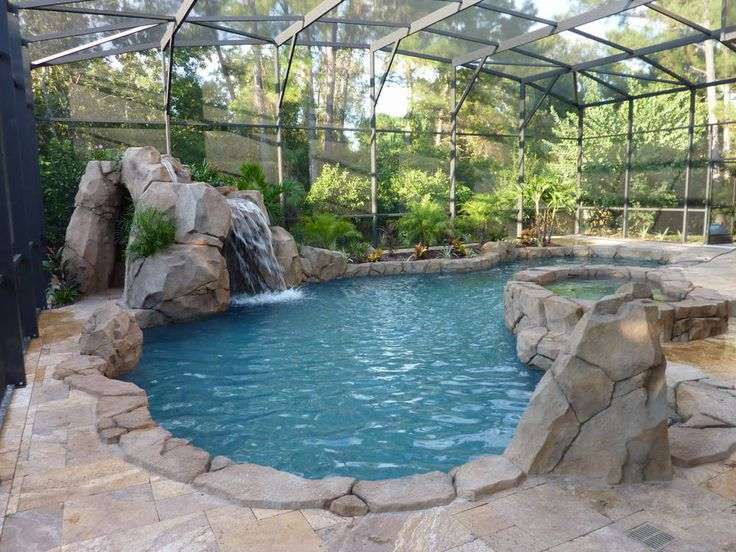 Central florida pools by design summer kitchen pool for Pool design in florida