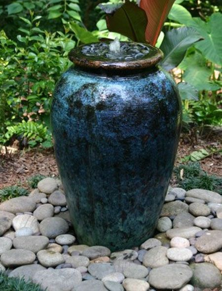 Large Pot Water Fountain
