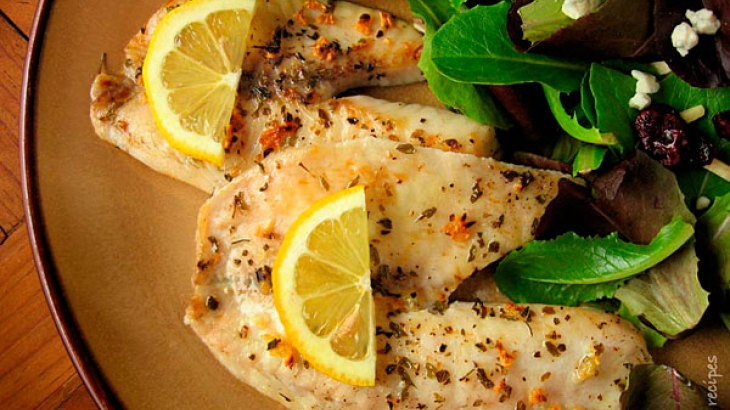 Broiled Tilapia with Garlic | Food & Recipes | Pinterest