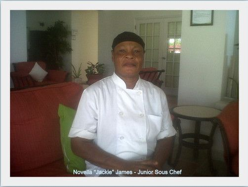 "Ms. Novella ""Jackie"" James Junior Sous Chef at Bayhouse Restaurant & Bar"