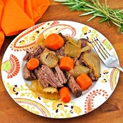 Rosemary and Thyme Pot Roast | Beef | Pinterest
