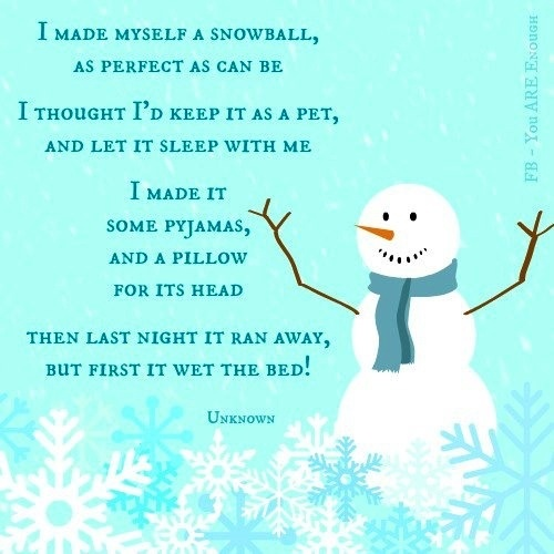 Melting Snowman Poems snowman quotes. quotesgram