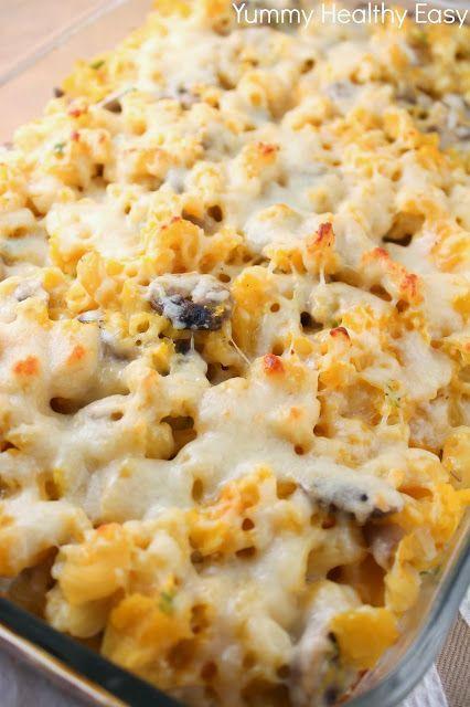 Lighter Baked Mac & Cheese aka Hidden Veggie Mac & Cheese | Recipe