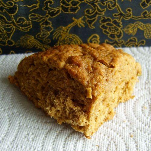Vegan & Dairy-Free Apple Cinnamon Whole Wheat Scones - Margarine-Free