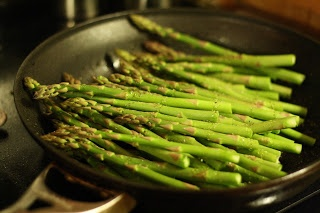 ... Gospel According to Ruth: Sauteed Asparagus with Dijon Vinaigrette