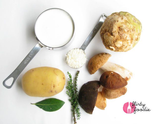 Porcini, Celeriac, and Potato Gratin | Recipe
