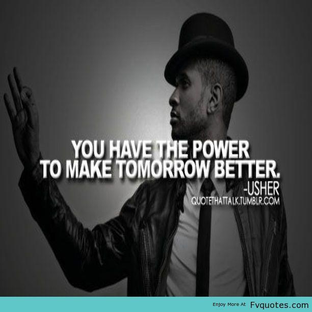 Usher Quotes. QuotesGram