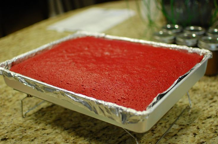 Red Velvet Sheet Cake | Red velvet treats | Pinterest