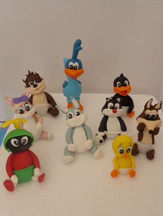 Baby Looney Tunes Cake Toppers
