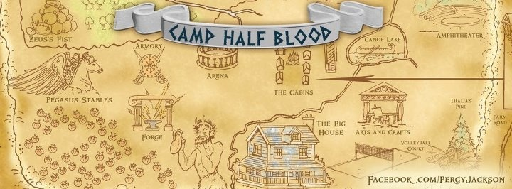 Percy JacksonCamp Halfbood Map  Camp Half Blood