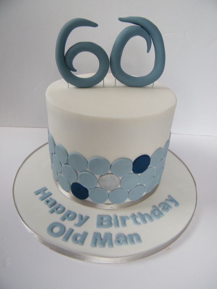 60th Birthday Cake Cakes Pinterest