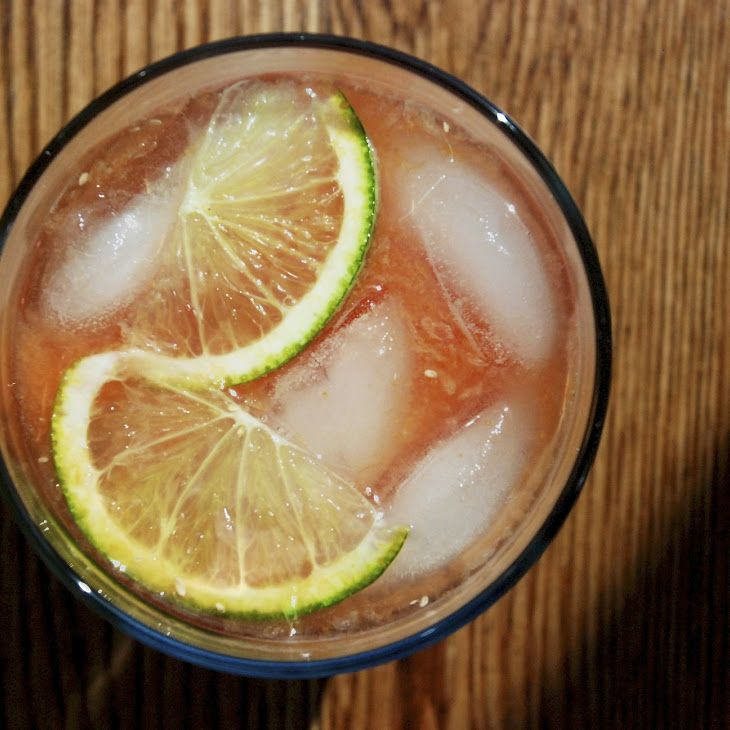 Blood orange and ginger punch. | festive food and drink. | Pinterest
