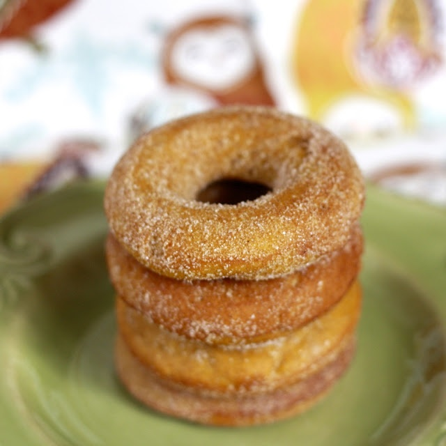 Baked Pumpkin Donuts. | Recipes. | Pinterest
