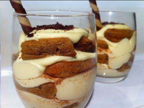 TIRAMISU CUPS: with Baileys Irish Cream | food nomnom | Pinterest