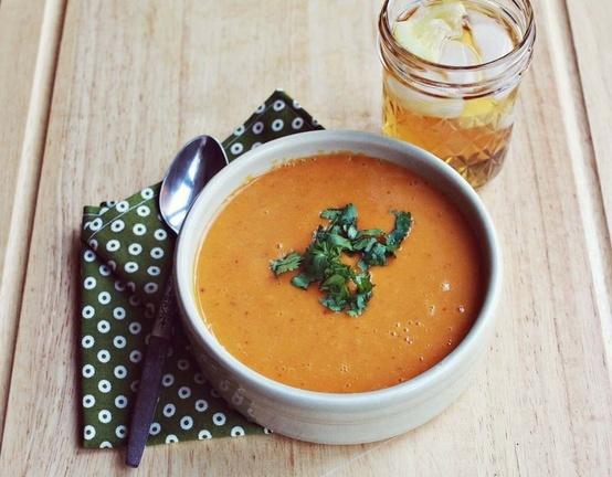 Chipotle sweet potato soup | Yummy For My Tummy | Pinterest