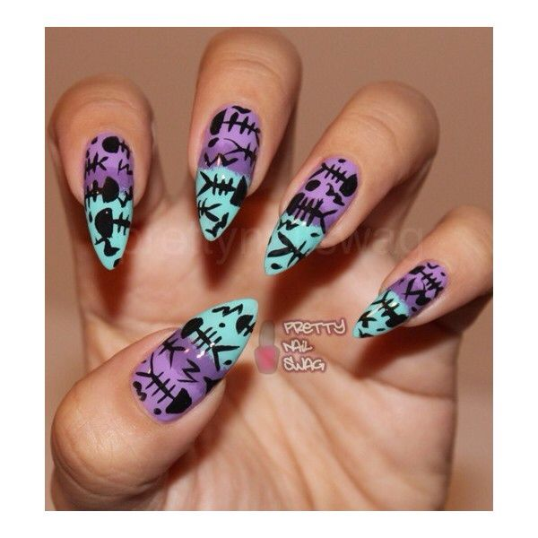 Nail designs. Nails gone wild.