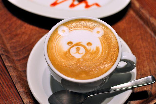 #Latte Bear