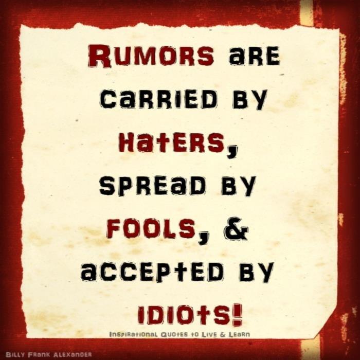 gossip and rumors quotes quotesgram