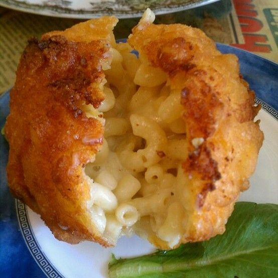 fried mac amp cheese balls 10 decadent foods that will make you ...