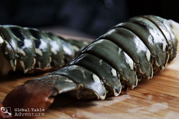 Roasted Lobster Tails with Coconut Curry Dipping Sauce | Recipe