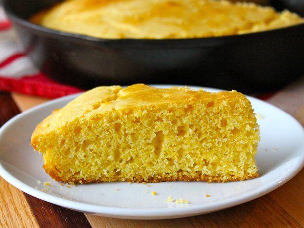 Sweet & Simple Cornbread | Food | Pinterest