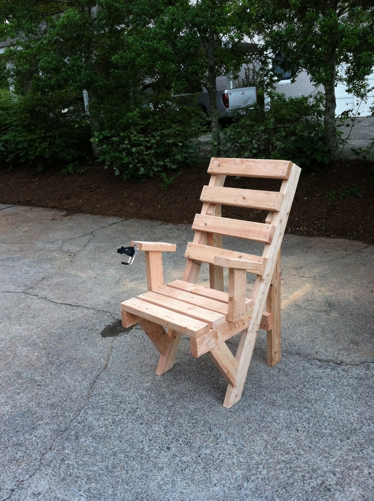 DIY 2x4 outdoor chair Furniture