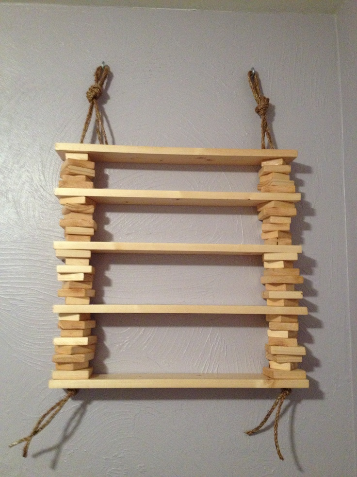 homemade trinket shelves things to make for the home