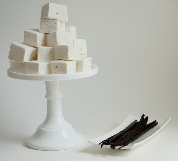 Vanilla Bean Marshmallows by sweetniks on Etsy, $12.00