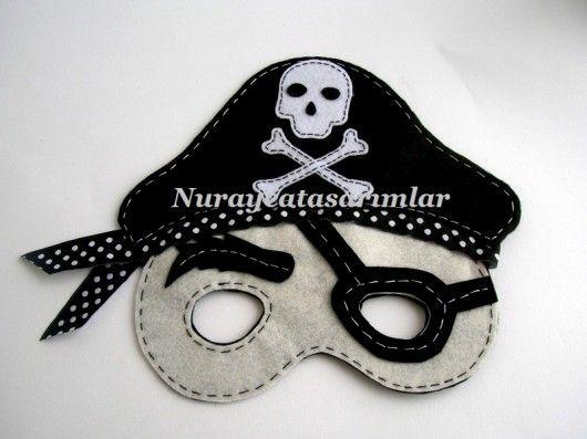 keçeden çocuklar için maske modeli - 10marifet.org'da