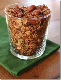 Recipe: Cocoa Almond Granola - inspired by @joythebaker