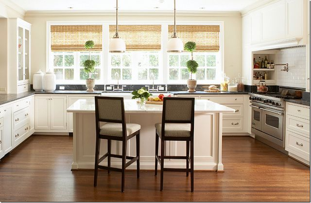 No upper cabinets the kitchen pinterest for Kitchen ideas no upper cabinets