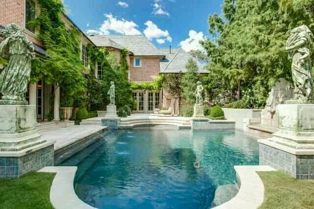 Beautiful Home N Pool DreAmy H MEs POOLs Pinterest