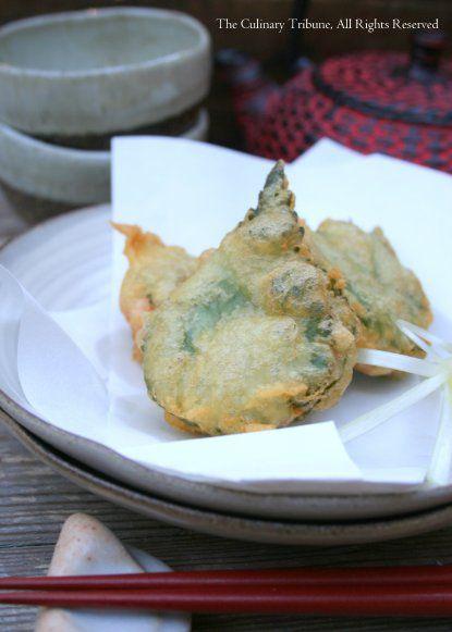 Shiso Spicy Tuna Tempura (aka Dragon Scales)