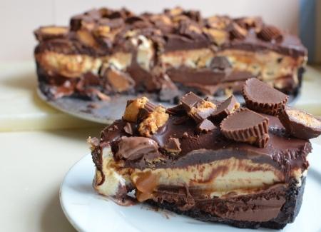 Peanut Butter-Chocolate Ice Cream Torte | PARTY IDEAS | Pinterest