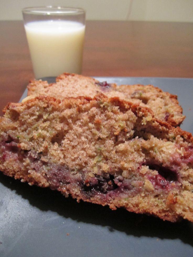 blueberry zucchini bread | Blueberry desserts | Pinterest