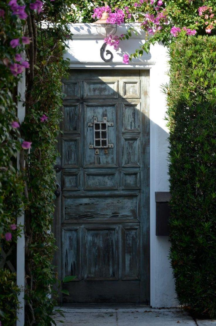 Door in santa barbara spanish style pinterest for Door in spanish