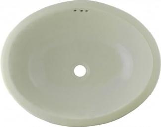 Briggs Bathroom Sinks : Mexican White Talavera Ceramic Oval Drop In Bathroom Sink