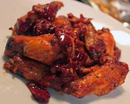 Spicy Chipotle-Honey Wings 12 split wings, about a 1 1/2 pounds Salt ...