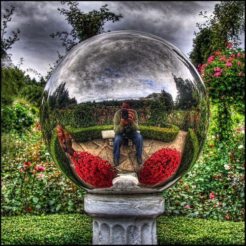 pausing for a moment of reflection by ecstaticist, via Flickr